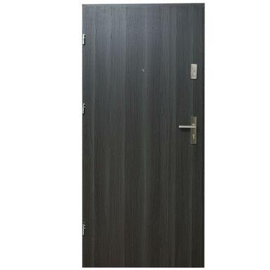 Drzwi wejściowe HEKTOR 32 Dąb grafit 90 Lewe DOMIDOR