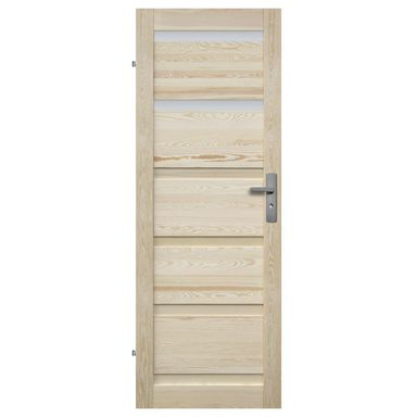 Skrzydło drzwiowe drewniane GENEWA 60 Lewe RADEX