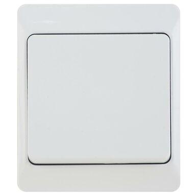 Włącznik pojedynczy HERMES  Biały  ELEKTRO-PLAST