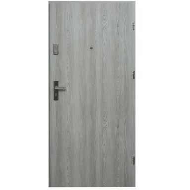Drzwi zewnętrzne MDF Hektor 32 dB Dąb Nordycki 80 Prawe otwierane do wewnątrz Domidor