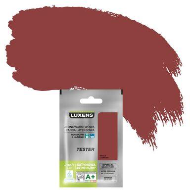 Tester farby KUCHNIA I ŁAZIENKA 25 ml Śmiała czerwień LUXENS