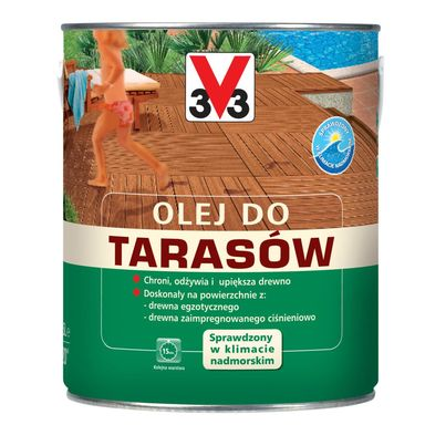 Olej do tarasów 2.5 l Palisander V33