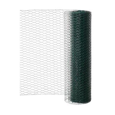 Siatka heksagonalna 0.5 x 5 m zielona LUSTAN