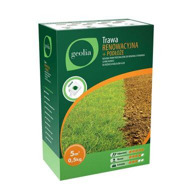 Trawa renowacyjna z podłożem 0,5 kg GEOLIA