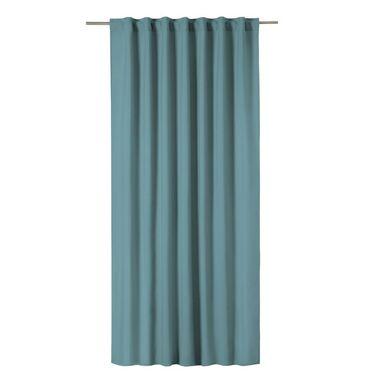 Zasłona Pharell niebieska 140 x 280 cm na taśmie Inspire