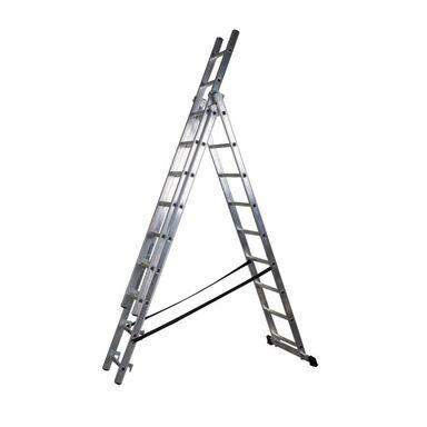 Drabina aluminiowa DW 3 x 9 DRABEST