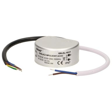 Zasilacz LED 12V 0.42 A / 5 W IP67 OR-ZL-1617 ORNO