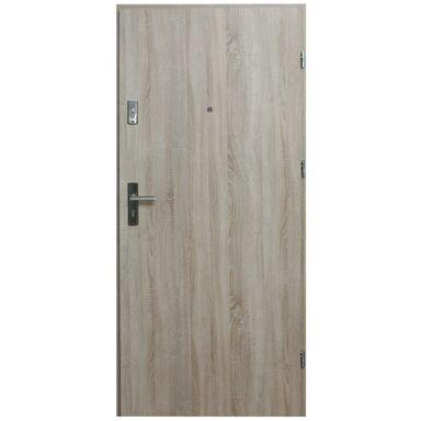 Drzwi zewnętrzne MDF Hektor 32 dB Dąb Sonoma 80 Prawe otwierane do wewnątrz Domidor