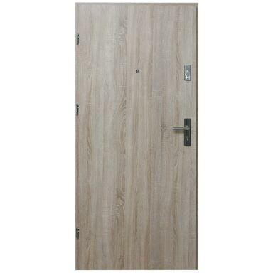 Drzwi wejściowe HEKTOR 32 Dąb sonoma 90 Lewe DOMIDOR