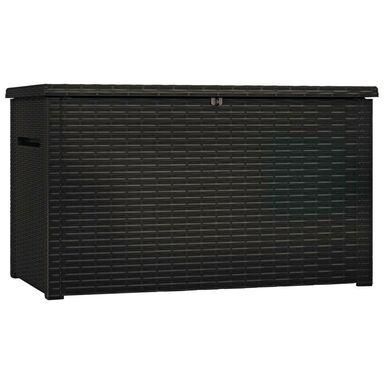 Skrzynia ogrodowa 850 l plastikowa grafitowa JAVA STORAGE BOX KETER