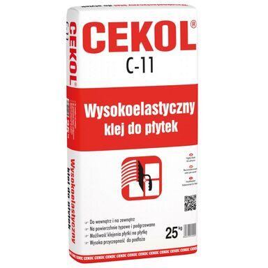 Klej wysokoelastyczny do płytek C-11 25 kg CEKOL
