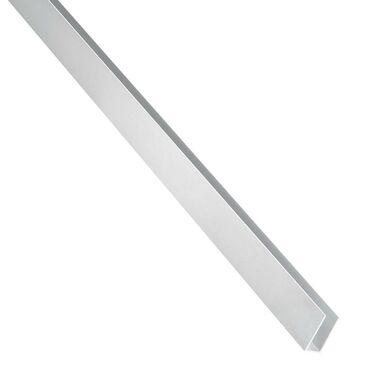 Ceownik aluminiowy 2.6 m x 21 x 10 mm surowy srebrny STANDERS
