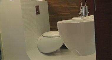 Łazienka przy pracowni