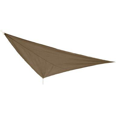 Żagiel cieniujący trójkątny 360 cm beżowy JUMI