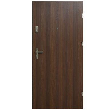 Drzwi wejściowe HEKTOR 32 Orzech premium 90 Prawe DOMIDOR