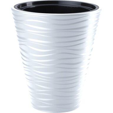 Doniczka plastikowa 40 cm biała SAHARA