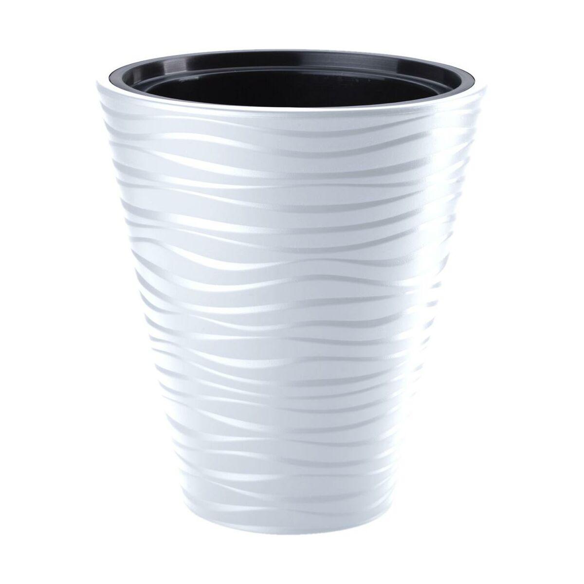 Doniczka Plastikowa 40 Cm Biala Sahara Doniczki W Atrakcyjnej Cenie W Sklepach Leroy Merlin