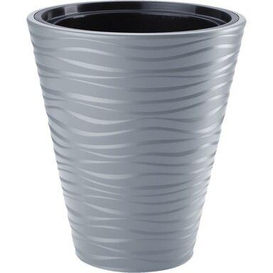 Doniczka plastikowa 40 cm szara SAHARA FORM-PLASTIC