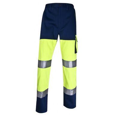 Spodnie odblaskowe żółte PHPANJMPT rozm. S DELTA PLUS