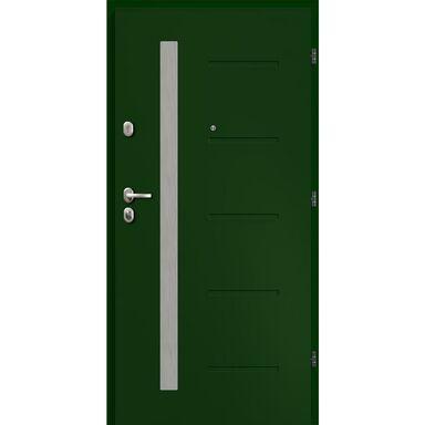 Drzwi wejściowe ANTWERPIA Zielone 90 Prawe LOXA