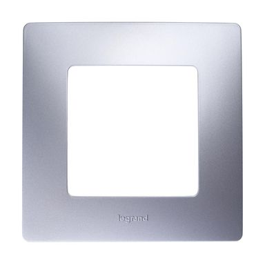 Ramka pojedyncza NILOE  aluminium  LEGRAND