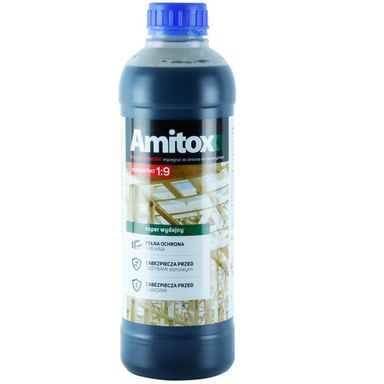 Impregnat DO DREWNA - KONCENTRAT 1lZielony AMITOX