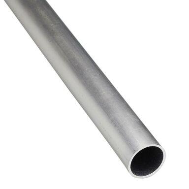 Rura okrągła aluminiowa 2.6 m x 20 mm surowa srebrna STANDERS