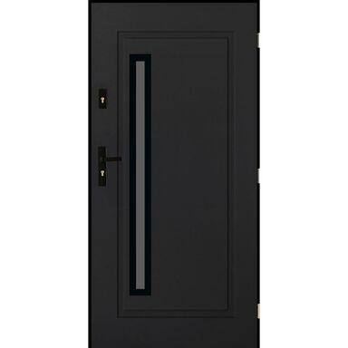Drzwi wejściowe PARYŻ Antracyt 90 Prawe PANTOR
