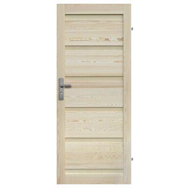 Skrzydło drzwiowe drewniane pełne Genewa 70 Prawe Radex