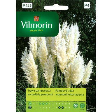 Trawa pampasowa BIAŁA nasiona tradycyjne 0.1 g VILMORIN