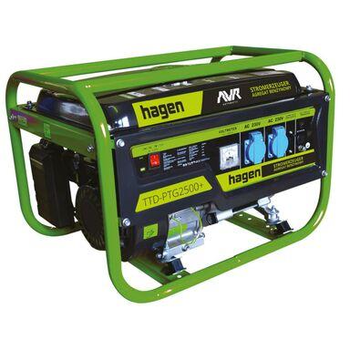 W Mega Agregat prądotwórczy TTD-PTG2500+ moc2.2 kW HAGEN - Agregaty PF77
