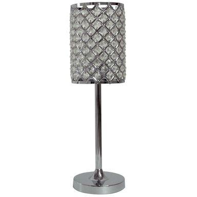 Lampa stołowa BELLA CRISTAL chrom E27 ORIVA