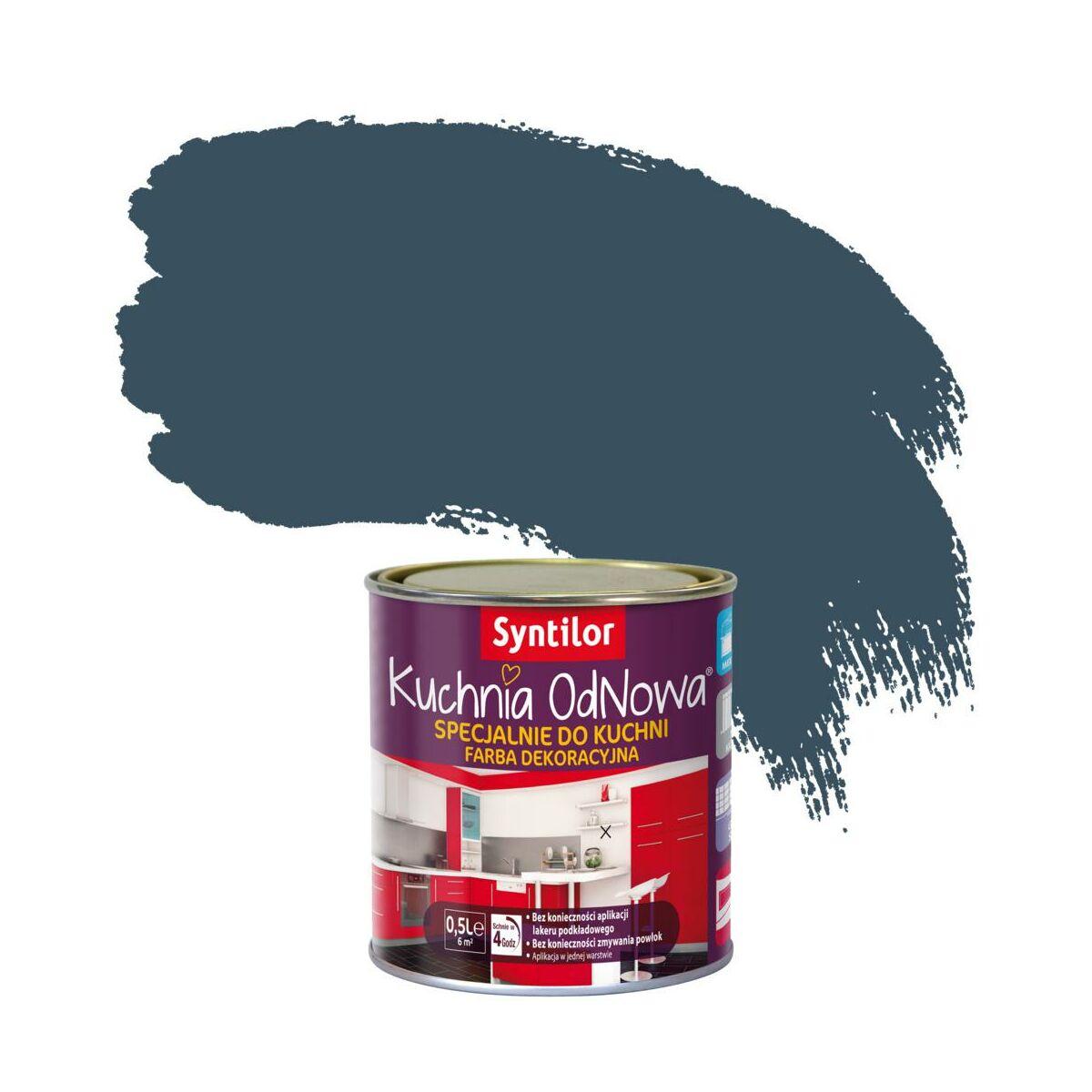 Farba Renowacyjna Kuchnia Odnowa 1 L Borówka Syntilor