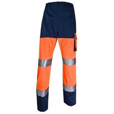 Spodnie odblaskowe pomarańczowe PHPANOMPT DELTA PLUS
