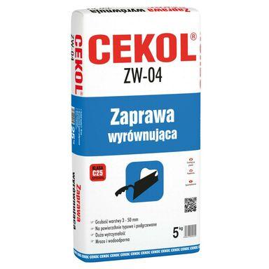 Zaprawa wyrównująca do ścian – masa ZW-04 5 kg CEKOL