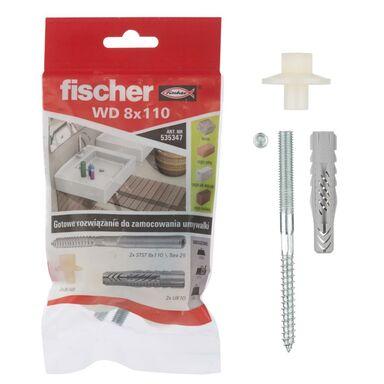 Zestaw kołków do montażu WD 10X60MM FISCHER