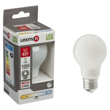 Żarówka LED E27 (230 V) 8 W 1055 lm Neutralny LEXMAN