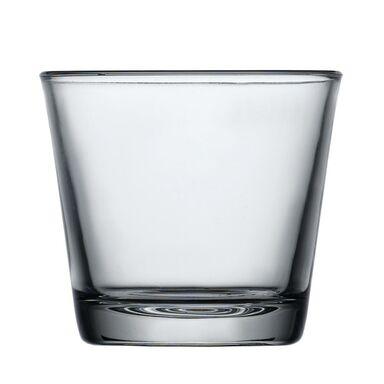 Wazon szklany wys. 8 cm transparentny