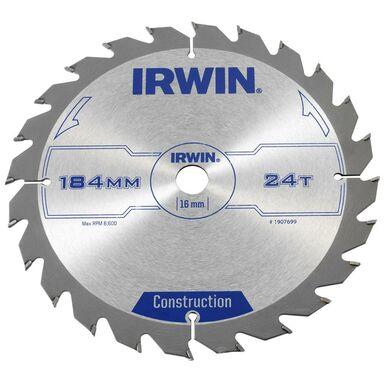 Tarcza do pilarki tarczowej 184MM/24T/16 śr. 184 mm  24 z IRWIN