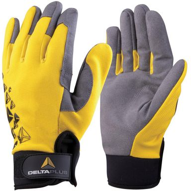 Rękawice robocze ze skóry syntetycznej VV901JA09  r. 09  DELTA PLUS