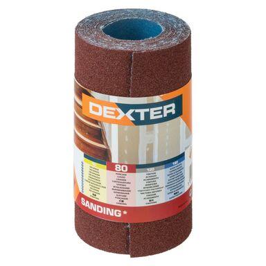 Papier ścierny ROLKA PŁÓTNO P80 115 mm x 2.5 m DEXTER