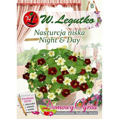 Nasiona kwiatów MIESZANKA Nasturcja niska Night & Day W. LEGUTKO