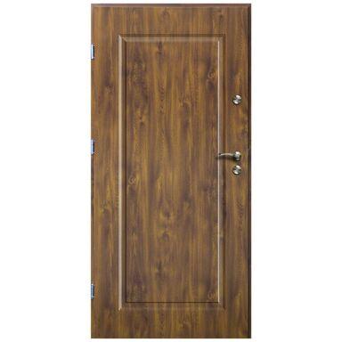 Drzwi wejściowe SQUARE Złoty dąb 90 Lewe
