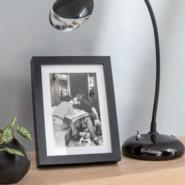 Ramka na zdjęcia MILO 13 x 18 cm czarna MDF INSPIRE