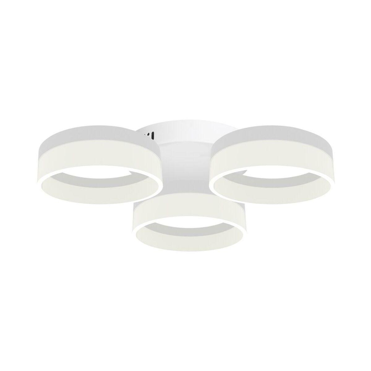 Plafon Ring 52 Cm Bialy Led Eko Light Plafony W Atrakcyjnej Cenie W Sklepach Leroy Merlin