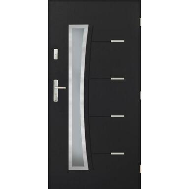 Drzwi wejściowe LYON Antracyt 90 Prawe PANTOR