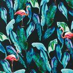 Tkanina na mb Lau zielona szer. 155 cm
