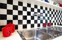 Ściana w kuchni nad blatem – co wybrać?