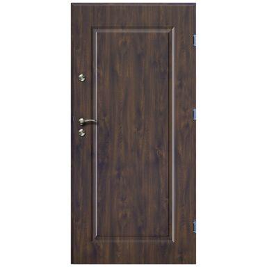 Drzwi wejściowe SQUARE Orzech 80 Prawe