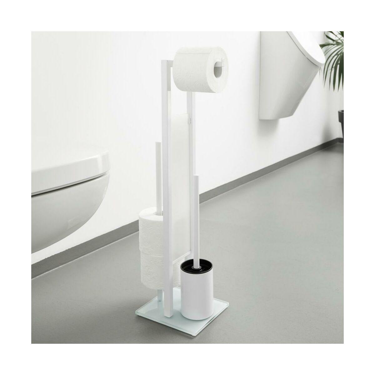 Stojak Na Papier Toaletowy I Szczotke Toaletowa Rivalta Wenko Stojaki Na Papier Toaletowy W Atrakcyjnej Cenie W Sklepach Leroy Merlin